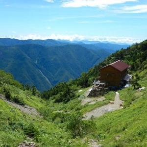リベンジ「釜ノ島山」光岳を下山(その2)