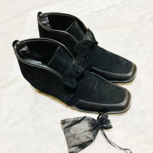 冬の準備 靴