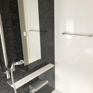 お風呂鏡のウロコ取り  と洗剤
