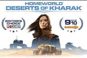 ゲーム「homeworld-deserts of kharak」砂漠戦が斬新な硬派の戦争シムは航空主義が命の件。