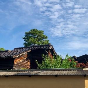 晴れていたのは、朝だけでした。藩士の家、彦三町1丁目。