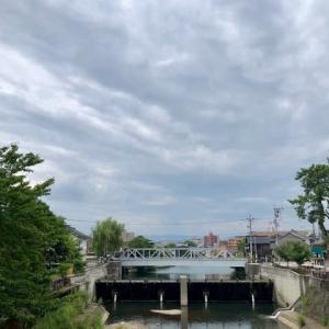雲に蓋をされて、コンクリート地面の熱が逃げません。東京の湿度94%には負けるけれど、蒸し暑いです。