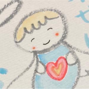 天使描いたよ♡