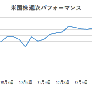 【夢見る米国株】「久々に大きく上昇」 2021年1月第4週 パフォーマンス