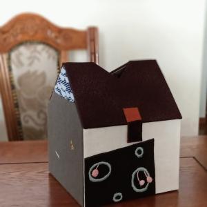 【守谷イベント向け⑤】 ハウス型ティッシュボックス