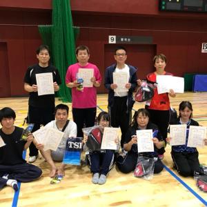 第36回東区社会人坂元杯卓球大会