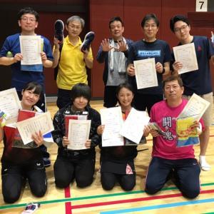 東区社会人坂元杯卓球大会