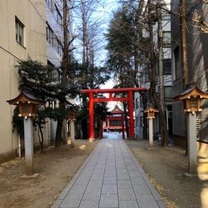 1/16「一粒万倍日&天赦日」(大吉日)、新宿の花園神社へ♪