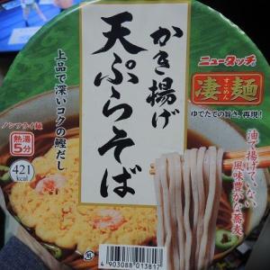凄麺の 天ぷらそばで 年越しを