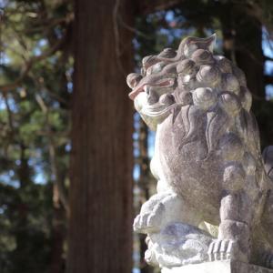 1834 遠野郷八幡宮にて