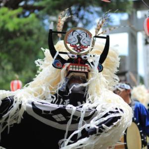 1632 小友まつり(長野しし踊り)