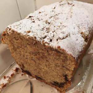 スパイスケーキとバナナケーキ