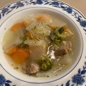 野菜補給のスープ