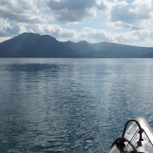 支笏湖(美笛キャンプ場)9月下旬