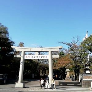 三島大社はパワースポット 参拝したら七五三で賑わってた