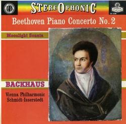 千変万化*バックハウス、シュミット=イッセルシュテット指揮ウィーン・フィル ベートーヴェン・ピアノ協奏曲2番&月光
