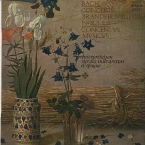 自然倍音の心地よさ*アーノンクール指揮ウィーン・コンツェントゥス・ムジクス バッハ・ブランデンブルク協奏曲2・4番