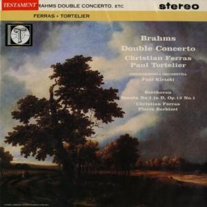 レア◉フェラス、トルトゥリエ、バルビゼ、クレツキ指揮フィルハーモニア◯ブラームス・二重協奏曲/ベートーヴェン・ソナタ1番