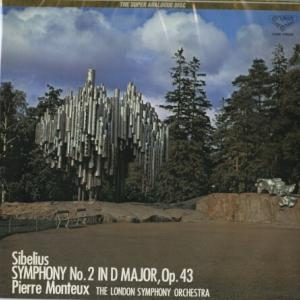 DECCAの重厚にして豪快な☆壮大かつ凝縮力のある モントゥー指揮ロンドン響 シベリウス・交響曲第2番