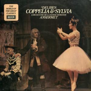 アナログの再生では扱いやすいレコード - アンセルメ スイス・ロマンド管 ドリーブ・コッペリア(抜粋)&シルヴィア組曲