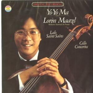 一度は聴いておくべきクラシック音楽の定番◆ヨーヨー・マ マゼール指揮フランス国立管 ラロ、サン=サーンス チェロ協奏曲