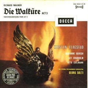 重文級◉SXL2031-2 フラグスタート、ショルティ指揮ウィーン・フィル◯ワーグナー・ワルキューレ第3幕全曲