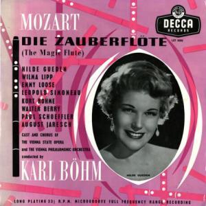 ベリーとギューデン・コンビの二重唱は極め付き◉カール・ベーム指揮ウィーン・フィル モーツァルト・魔笛