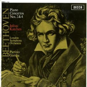 冬の水一枝の影も欺かず カッチェン、ガンバ指揮ロンドン響 ベートーヴェン・ピアノ協奏曲2番、4番