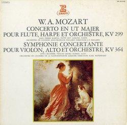生命力*ランパル、ラスキーヌ、ビュッヒナー、パイヤール モーツァルト・フルートとハープのための協奏曲/協奏交響曲
