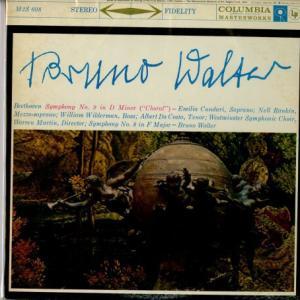 「人類愛」という最も普遍的なテーマを歌い上げた〜ブルーノ・ワルター、コロンビア響 ベートーヴェン・第9&交響曲8番