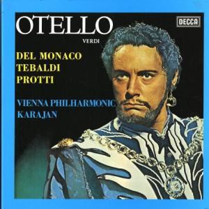 黄金のトランペット*テバルディ、デル・モナコ、カラヤン指揮ウィーン・フィル ヴェルディ・オテロ(全曲)