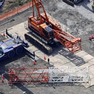 【作業員1人死亡、2人けが】道路建設工事現場でクレーンの下敷き ― 4月2日 熊本県宇土市城塚