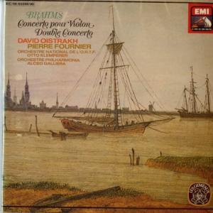熟成された濃密な男盛りを味わう*オイストラフ フルニエ ブラームス・ヴァイオリン協奏曲、二重協奏曲