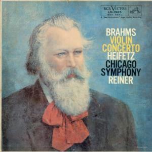 超絶技巧が良く解る◉2トラック録音 ハイフェッツ ライナー シカゴ交響楽団 ブラームス・ヴァイオリン協奏曲