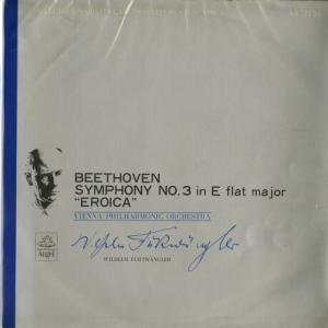 輸入メタル使用盤◉唯一のスタジオ録音 フルトヴェングラー指揮ウィーン・フィル ベートーヴェン・交響曲3番《英雄》