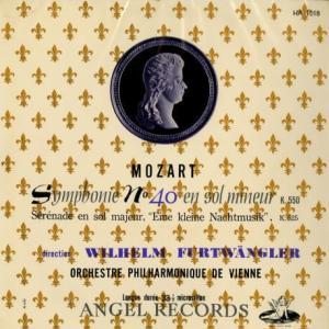 寂寥と結晶化した★フルトヴェングラー ウィーン・フィル モーツァルト 交響曲40番&アイネ・クライネ・ナハトムジーク