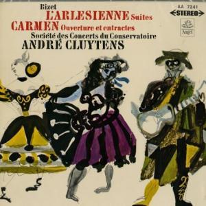 シックでエレガント - AA7241 クリュイタンス・パリ音楽院管 ビゼー・アルルの女&カルメン組曲 - 不朽の定番