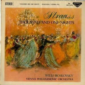 ♪世相を映したデザインも愉しみ ボスコフスキー指揮ウィーン・フィル ヨハン・シュトラウス 千夜一夜物語