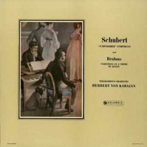 わが恋の終わらざるがごとく*カラヤン指揮フィルハーモニア管 シューベルト・未完成 ブラームス・ハイドンの主題による変奏曲