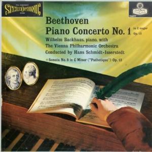 千変万化 バックハウス、シュミット=イッセルシュテット指揮ウィーン・フィル ベートーヴェン・ピアノ協奏曲1番&悲愴