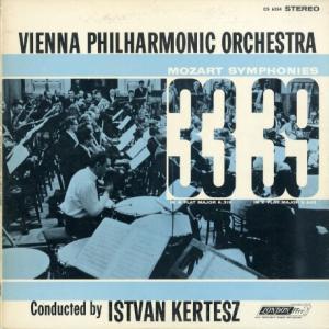 ストラヴィンスキーを先取りしている響きがする★ケルテス指揮ウィーン・フィル モーツァルト・交響曲33&39番