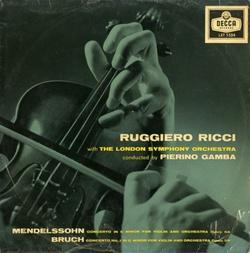 ♪大ヴィルトゥオーゾの継承者●リッチ、ガンバ指揮ロンドン響 メンデルスゾーン&ブルッフ・ヴァイオリン協奏曲