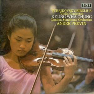 少女の健気さが初々しく等身大で迫る*チョン・キョンファ、プレヴィン指揮ロンドン響 チャイコフスキー・ヴァイオリン協奏曲