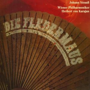 オペラの分野でも数々の実績を残したカラヤンの代表的な名盤★カラヤン指揮ウィーン・フィル ヨハン・シュトラウス・こうもり