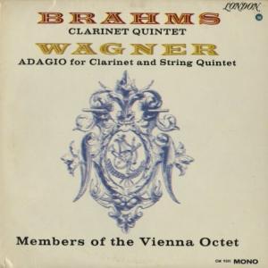 DECCA黄金期を代表する名盤◉アルフレッド・ボスコフスキー、ウィーン八重奏団員◯ブラームス・クラリネット五重奏曲