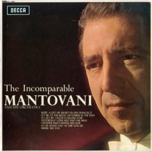 通販レコードのご案内♭「時の過ぎ行くままに」「夏の日の恋」「 バラ色の人生」「枯葉」比類なきマントヴァーニの世界