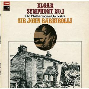 厳格な英国貴風の現れた☆バルビローリ指揮フィルハーモニア管 エルガー・交響曲第1番