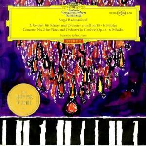 赤ステ初出盤◆濃厚なロマンティシズム リヒテル ヴィスロッキ指揮ワルシャワ国立フィル ラフマニノフ ピアノ協奏曲2番