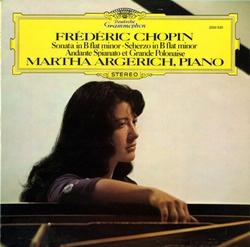 僕の曲に似ているね*アルゲリッチ ショパン・ソナタ2番、アンダンテ・スピアナートと華麗なる大ポロネーズ、スケルツォ2番