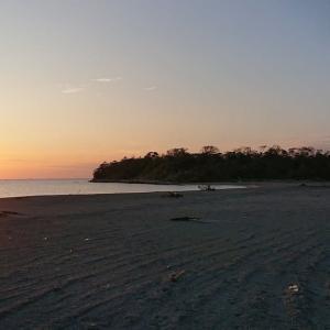 台風後の沖ノ島